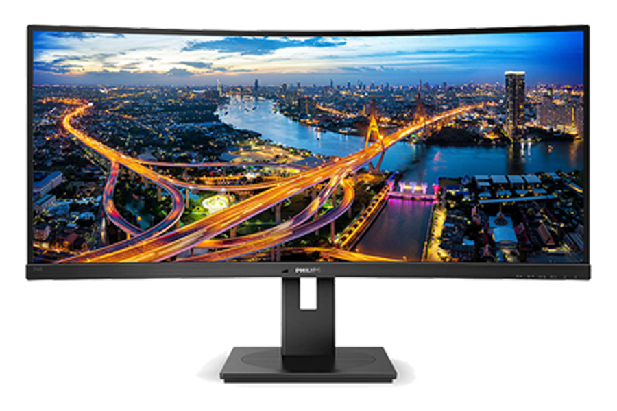 xxxPhilips moniteur incurvé 34'' LED Brilliance B-line station d'accueil USB-C