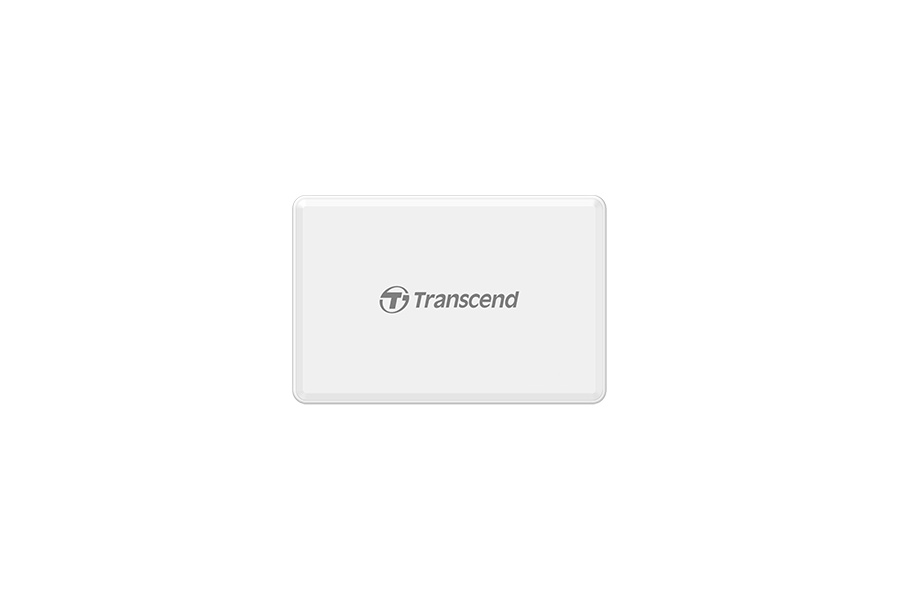Transcend Multi-Card Reader RDF8 blanc