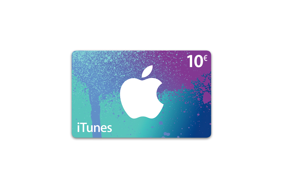 Apple carte iTunes 10 € - distribution électronique