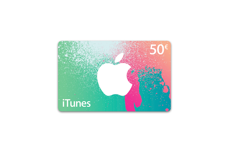 Apple carte iTunes 50 € - distribution électronique