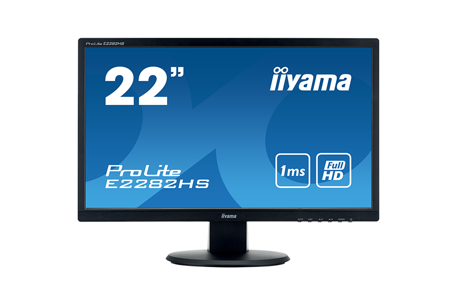 xxxIiyama moniteur 22'' LED ProLite E2282HS